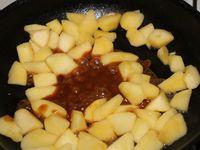 Tarte Mousse Caramel, Pommes caramelisées Spéculoos