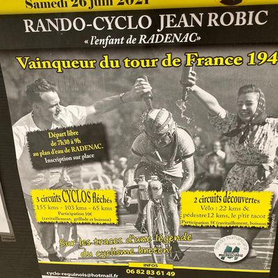 Randos cyclos Samedi 26 à Radenac... Sur les traces de Jean Robic !