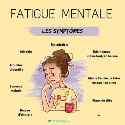 La fatigue mentale : la comprendre, la soigner