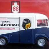 FASCICULE N°33 CITROEN TYPE H ENCRE WATERMANN 88 IXO 1/43 - car-collector.net