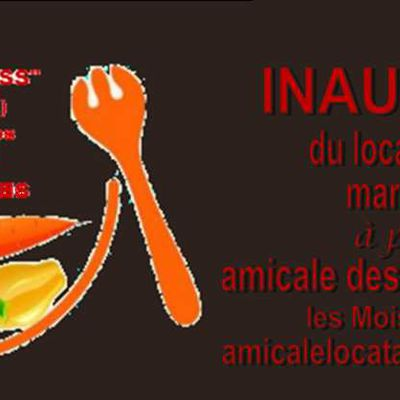 INAUGURATION DU SECOURS ALIMENTAIRE