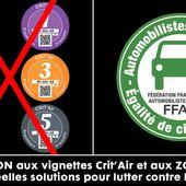Véhicules interdits à la circulation (ZFE) au 1er juillet 2019 (suite) - frico-racing-passion moto