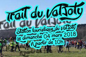 Le trail du Valjoly le dimanche 4 mars 2018