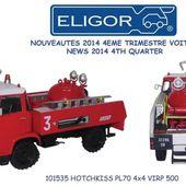 Hotchkiss PL70 4x4 VIRP 500 au 1/43 (Eligor) -