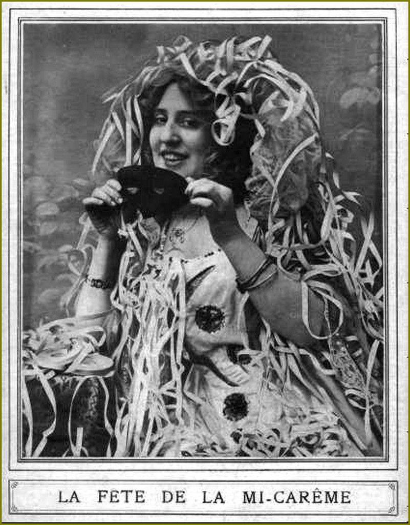 vintage carnaval - mardi gras -