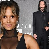 Halle Berry joins Keanu Reeves at John Wick 3 world premiere in NYC
