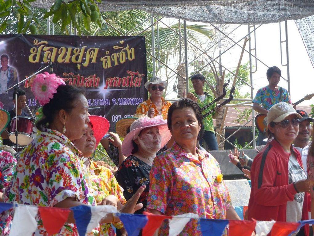 Songkran à Ban Muang