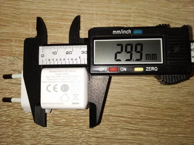 découverte du chargeur secteur USB type C PowerIQ 18 Watts - Anker PowerPort III Nano @ Tests et Bons Plans