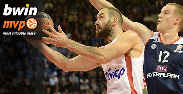 Vassilis Spanoulis named MVP of the week