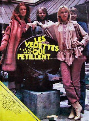 <p>ABBA en France et en Belgique en 1978 et 1979.</p>