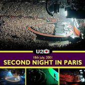 U2 -Elevation Tour -18/07/2001 -Paris -France- Palais Omnisports De Paris Bercy #2 - U2 BLOG