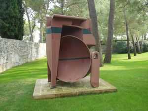 visite de la fondation Maeght