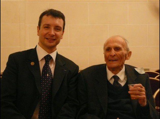 Les généraux Albéric Vaillant et Jean Combette, en compagnie du président national de l'UGF.