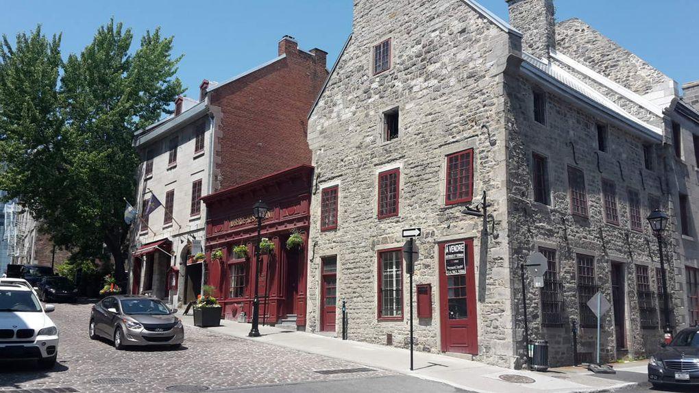 Canada - Celui qui visitait Montréal