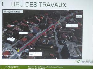 Pour les élus d'Union pour Firminy que nous sommes ce dossier de la sécurisation et de la déviation du boulevard Fayol retient toute notre attention.
