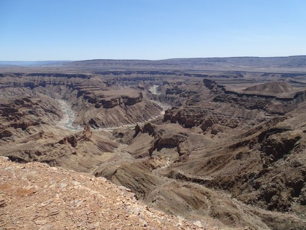 Fish River Canyon: le second plus grand canyon après le colorado