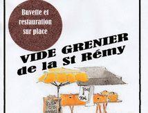 Vide grenier de la Saint Rémi