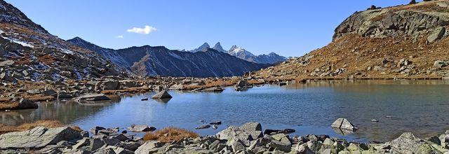 Les Grands Lacs Valmenier, 14 km pour 800 m de dénivelé, Le 16 Octobre 2021