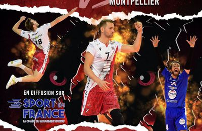 Cannes / Montpellier (Ligue AM) en direct ce samedi sur Sport en France !