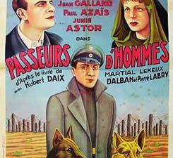 Passeurs d'hommes de René Jayet avec Junie Astor