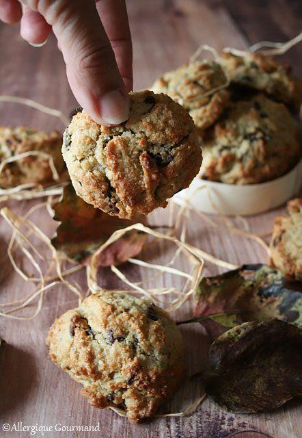 cookies sans gluten sans lait sans œufs