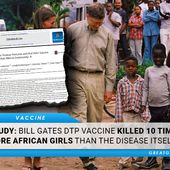 STUDY: Bill Gates DTP Vaccine Killed 10 Times More African Girls Than The Disease Itself | GreatGameIndia