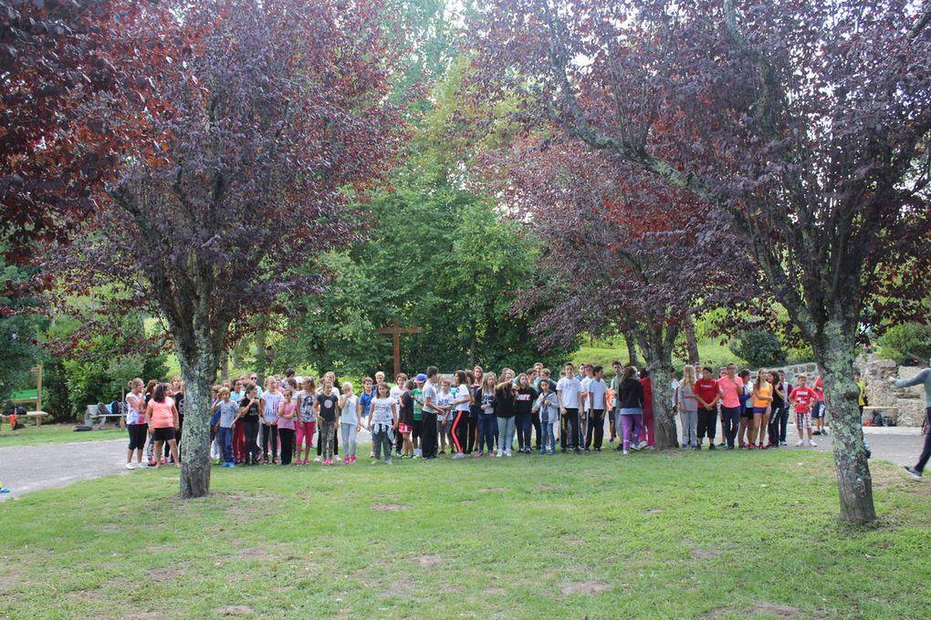 Journée de cohésion des collégiens