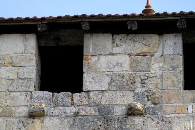 Diaporama église fortifiée de Sarbazan