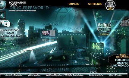 Scientology unterstützt die weltweit erfolgreichste Drogen-Aufklärungskampagne