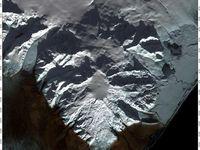 Ice-cauldron de l'Öraefajökull , respectivement les 1, 10 et 17.11.2017 - images Nasa Landsat  - un clic pour agrandir