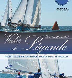 """La Baule - Le Pouliguen accueille les """"Voiles de légende"""", du 12 au 15 août 2013"""