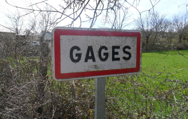Gages - les  Bourines