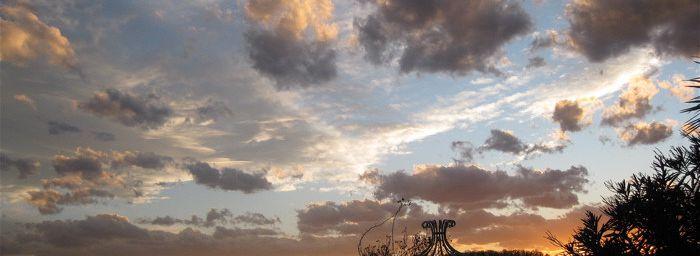 C'était le ciel avant Xynthia...
