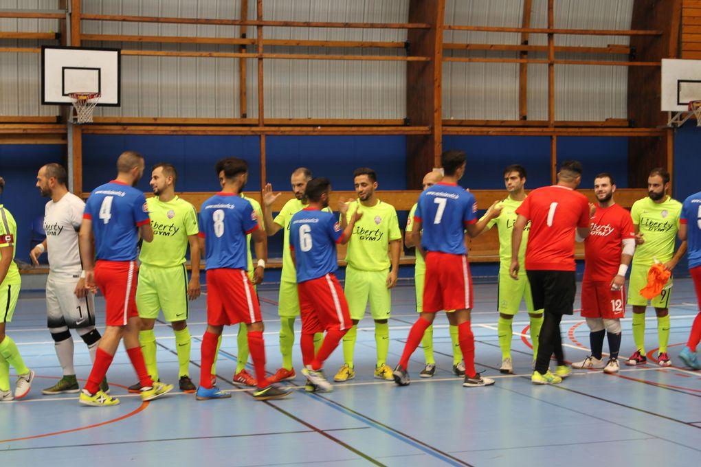 Vénissieux FC Futsal a resisté mais etait trop amoindrie pour eviter la défaite