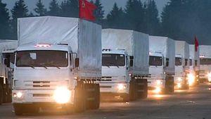 Reuters - Ukraine: Russian convoy confounds Ukraine