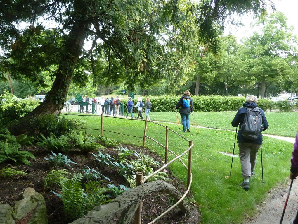 Marche Nordique au Bois de Vincennes - 6,62 km.