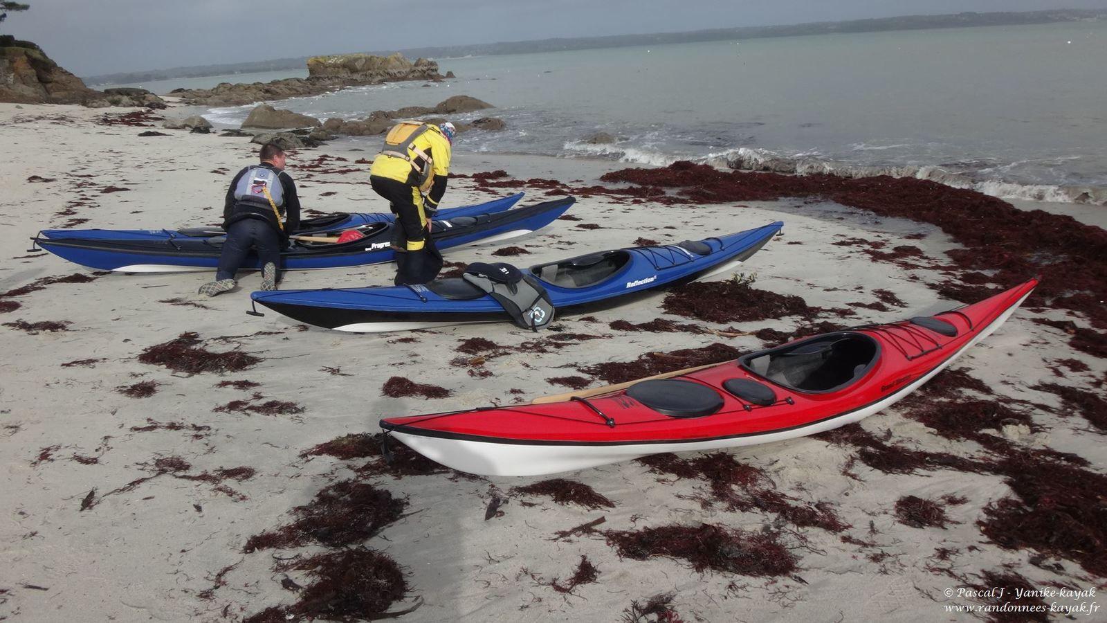 Sterling Kayaks : essais à Beg-Meil
