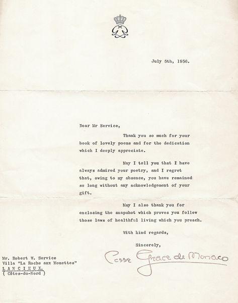 Un Poète méconnu à Monte-Carlo: Robert W. Service
