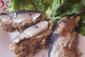 Sardines farcies aux Fruits secs