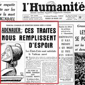 25 mars 1957: signature à Rome du traité sur la création de la Communauté Economique Européenne, l'ancêtre de l'UE