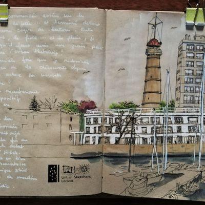 Lorient... la tour de la découverte est recoiffée