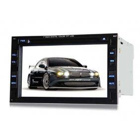27 inch tv  | Best Piennoer Original Fit (2002-2005) Volkswagen GLI 6-8 Inch Touchscreen Double-DIN Car DVD Player  &  In Dash Navigation System,Navigator,Built-In Bluetooth,Radio with RDS,Analog TV, AUX & USB, iPhone/iPod Controls,steering wheel control, rear view camera input