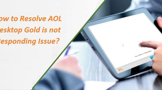 How to Resolve AOL Desktop Gold is not Responding Issue?