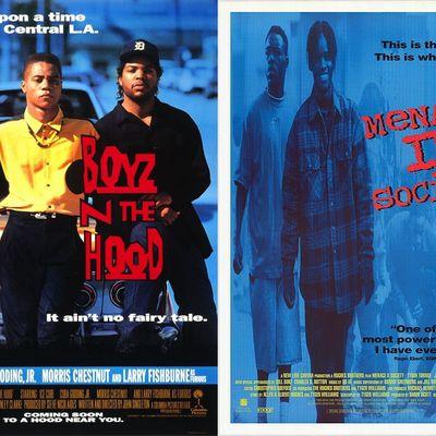 Boyz'n the Hood vs Menace II Society : ghetto stories