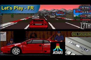 Atari STE Let's Play - Lotus Esprit Turbo challenge