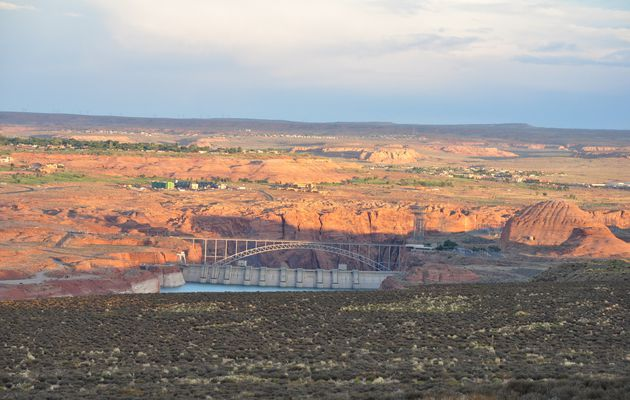 Road Trip Ouest américain partie 3 : Page (lac Powell, Antelope Canyon, Horseshoe Bend)