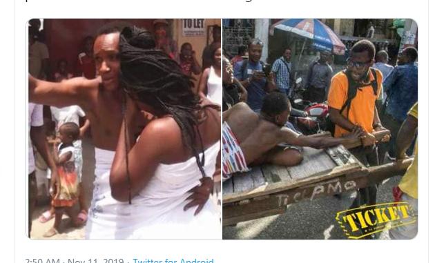Une Dame nigériane nie l'existence de «magun», dit qu'il est «pénis captivus»