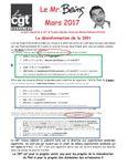 Mr. Being Mars 2017 - NAO - Intéressement - Boycott à Seloncourt