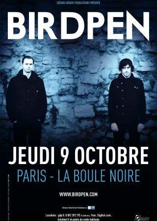 birdpen, dave pen et mike bird s'échappent du collectif archive pour enregistrer un album en duo