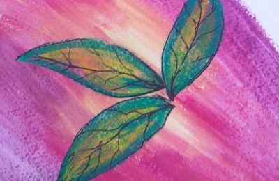 CÉSAR • petite composition aux pastels secs